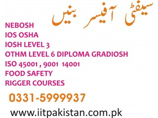 OTHM Level 6 Safety Diploma for Gradiosh in Islamabad