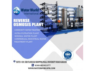 Water, Waste Water treatment, R-O plant