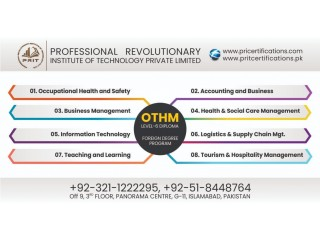 Othm Level 6 Diploma in Accounting & Business in Islamabad