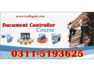 Document Controller Course In Mardan Charsadda