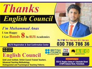 Best Institute for IELTS & English Language in Faisalabad ENGLISH COUNCIL