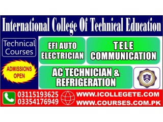 Auto Car Electrician Course in Attock Chakwal
