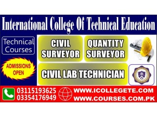 Diploma In Civil Lab Technician Course In Lahore
