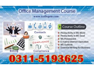Diploma In MS Office Manegement In Hafizabad