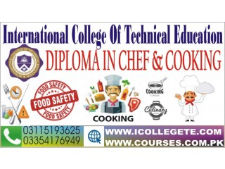 Diploma In Chef & Cooking Course In Manshera Swabi